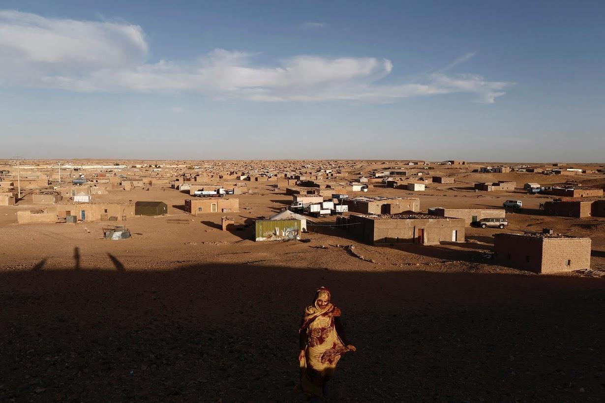 algerian refugee camp