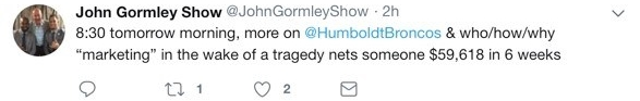 Gormley Tweets
